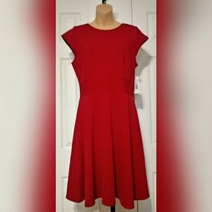NWT DR Collection Red Dress SZ 10